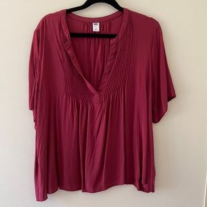 Old Navy Short Sleeve Blouses